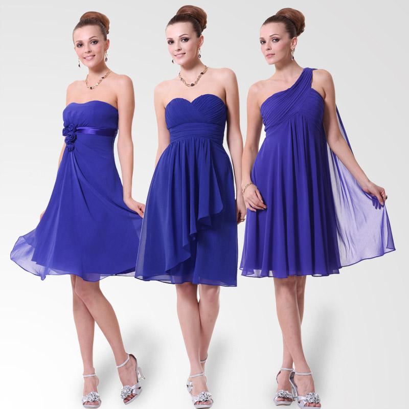 vestidos azules para fiesta de dia o noche