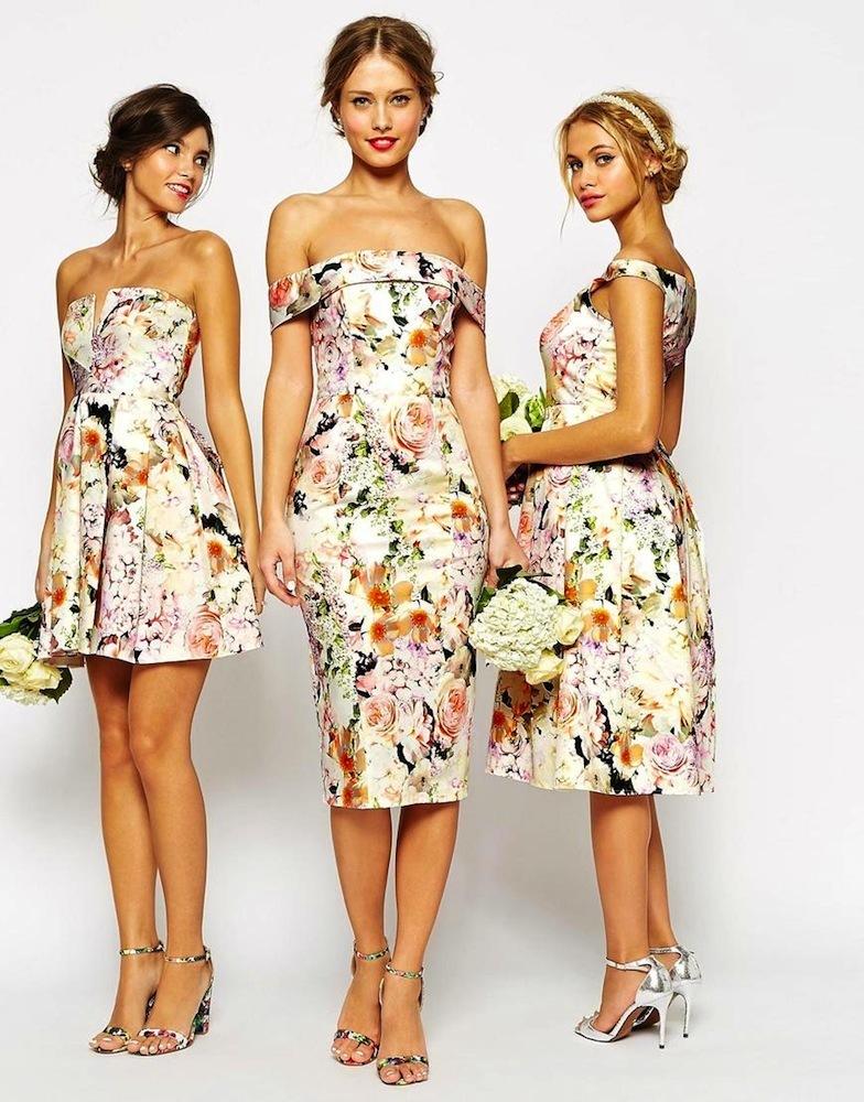 58d80810b9172 ▷ Mas de 40 vestidos para se la dama de honor en una boda