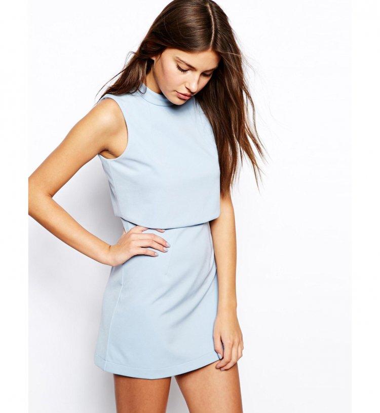 Vestidos cortos colores de moda