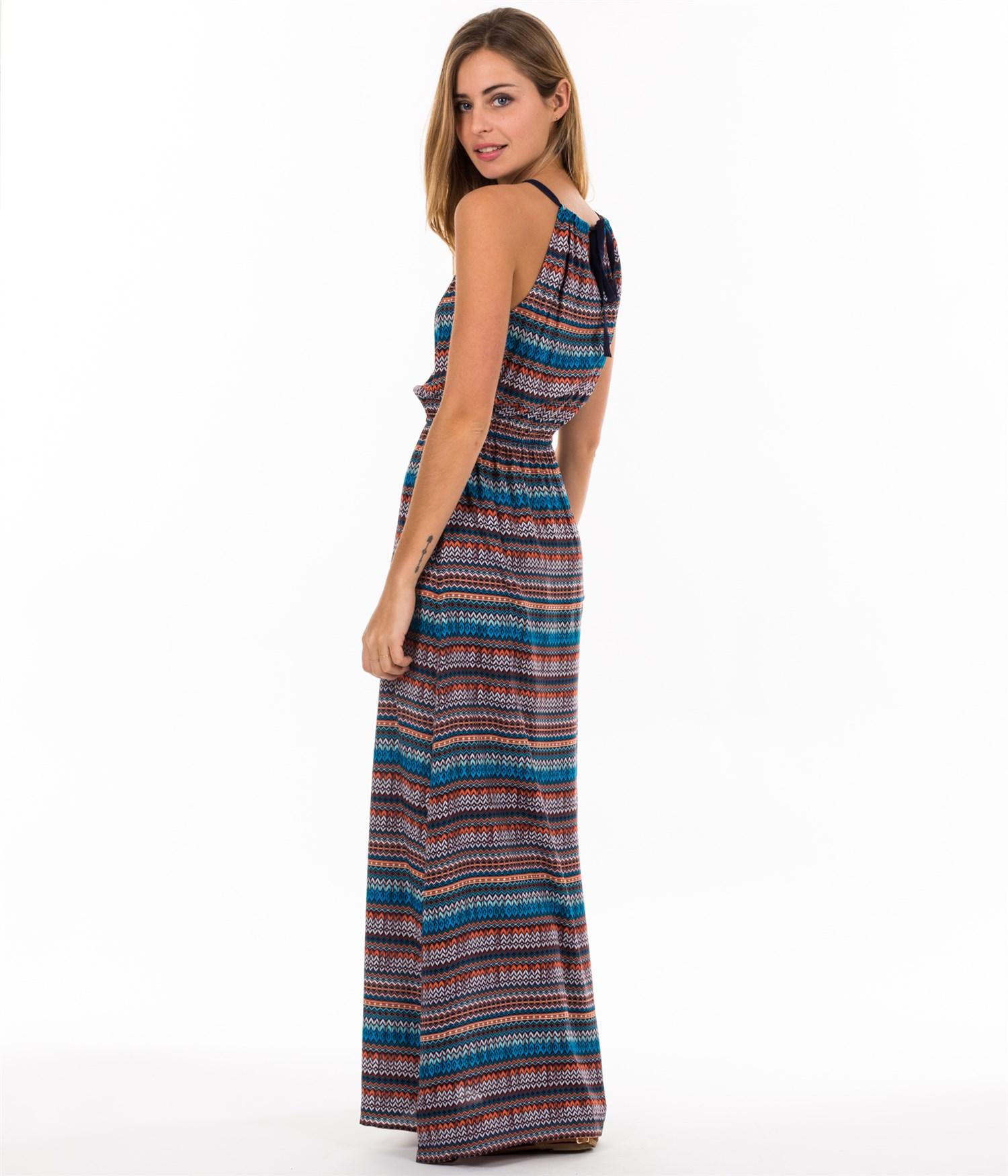 vestidos-largos-al-estilo-hippie-con-rayas-verano-2015