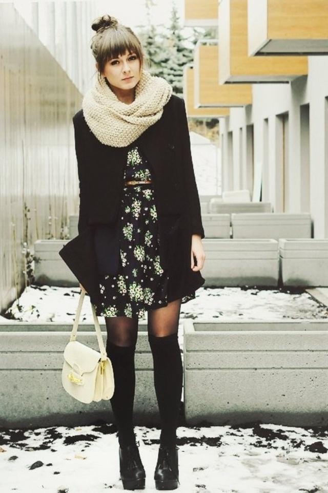 como-utilizar-los-vestidos-de-verano-en-dias-frios-2