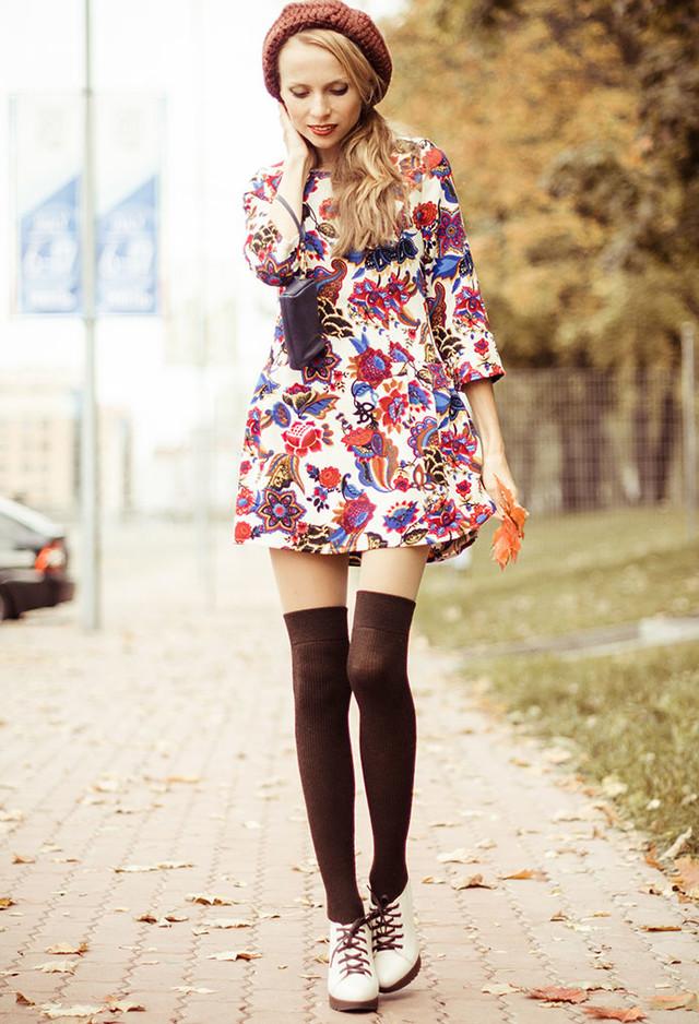 como-utilizar-los-vestidos-de-verano-en-dias-frios
