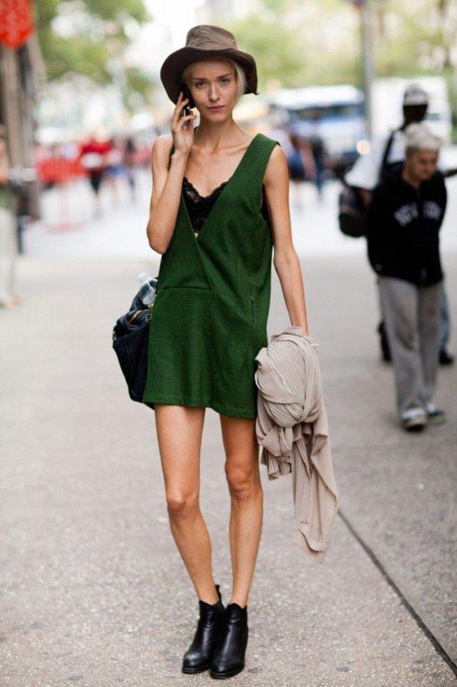 5 Maneras De Combinar Un Vestido Verde Vestidos Glam