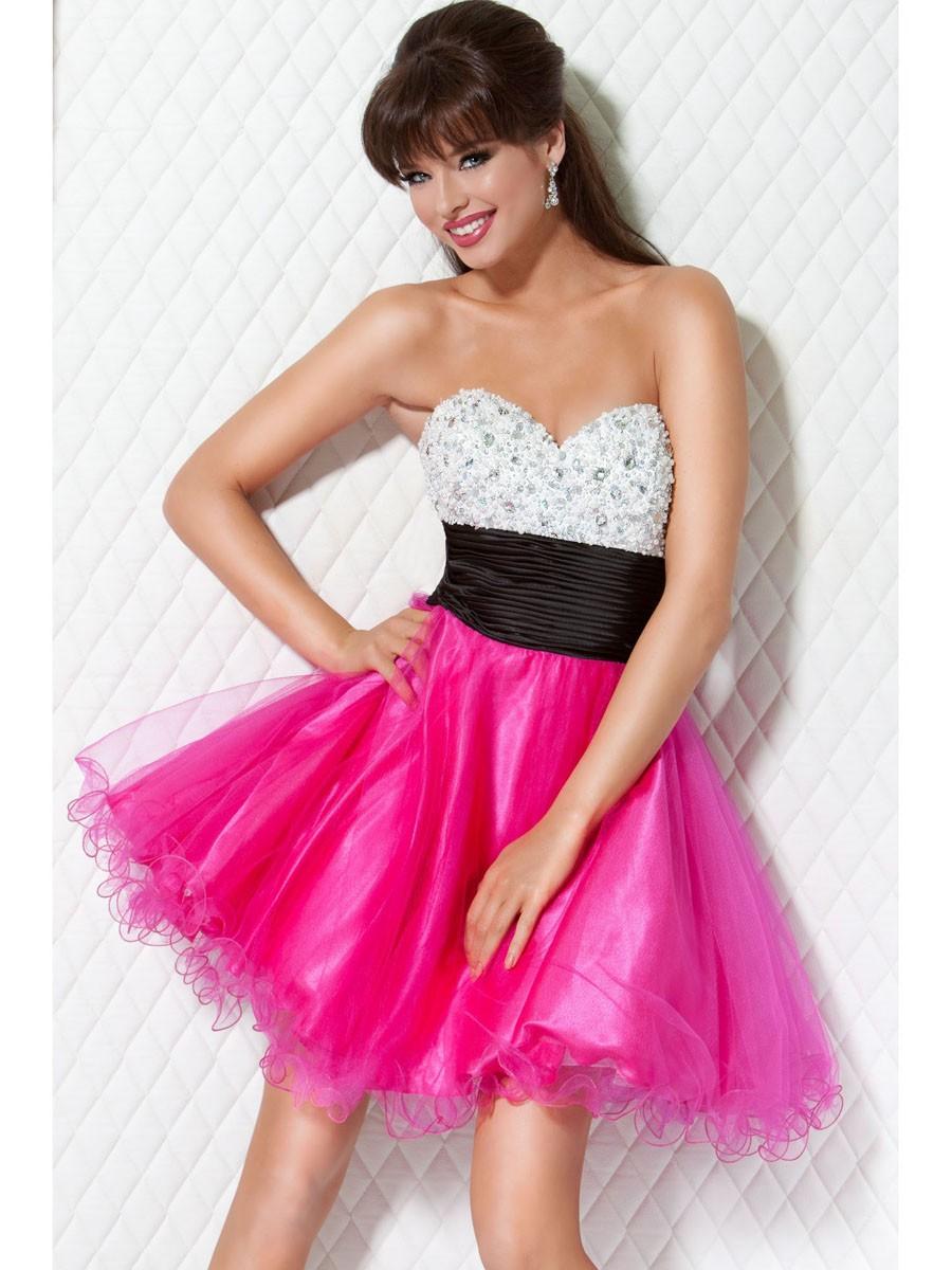40 Vestidos de 15 años largos y cortos en color rosa - Vestidos Glam