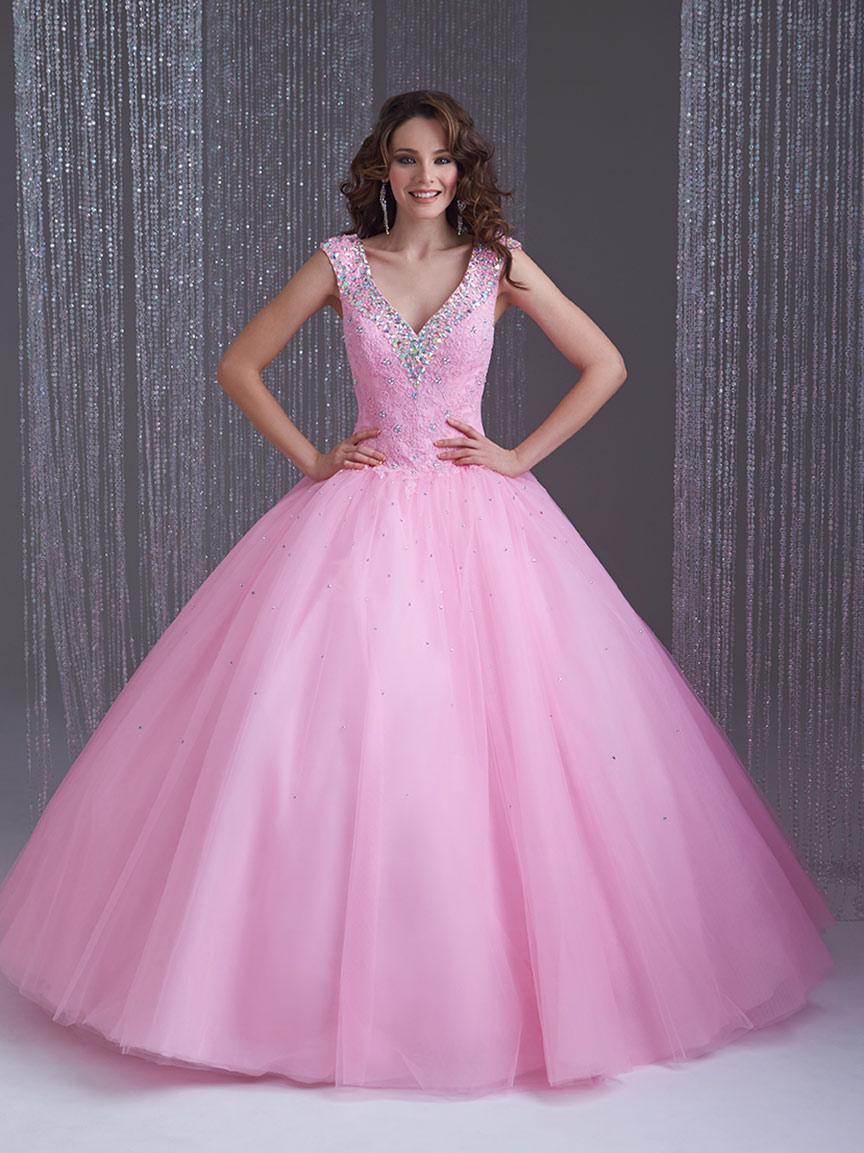 Vestidos de 15 anos largos color rosa (14)