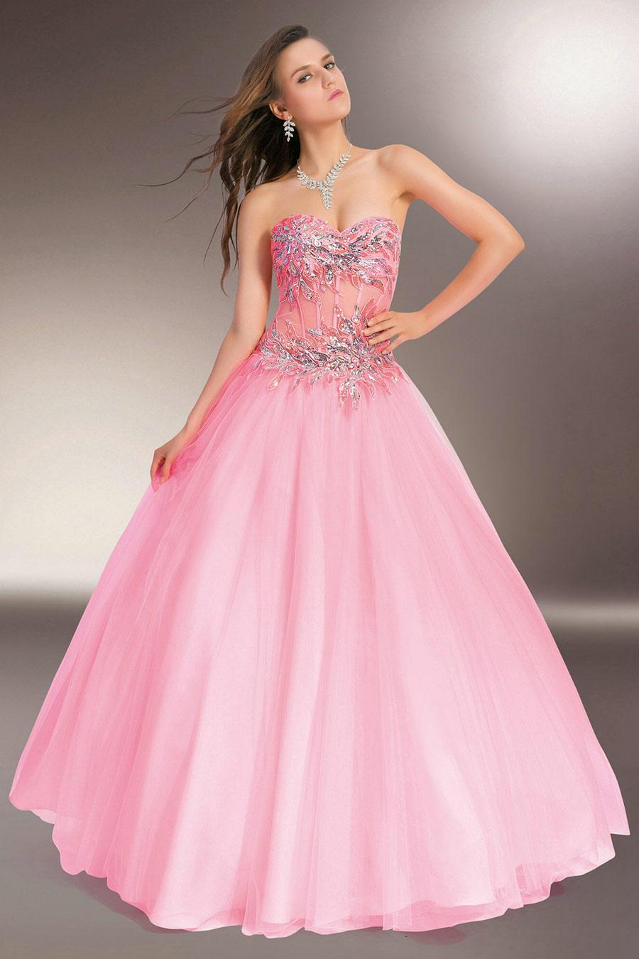 40 vestidos de 15 a os largos y cortos en color rosa for Cubre sillas para 15 anos