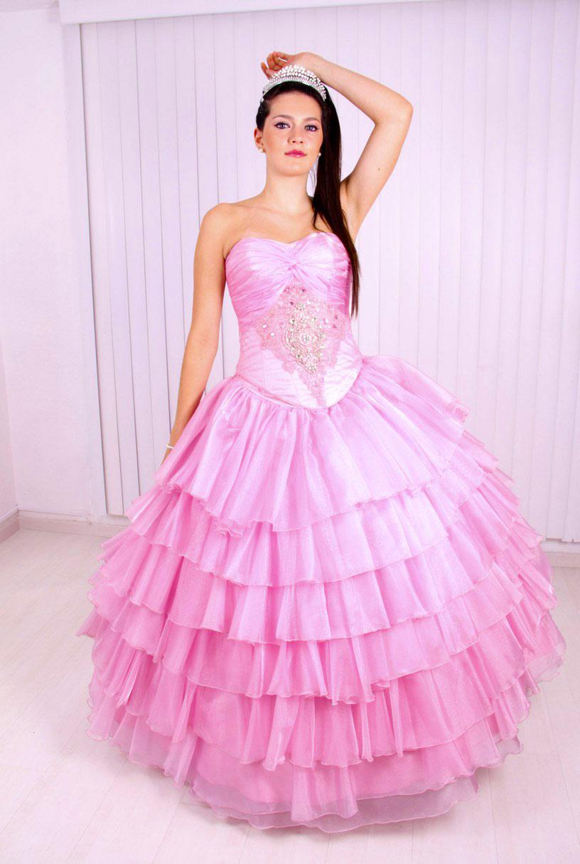 10a60b623 40 Vestidos de 15 años largos y cortos en color rosa - Vestidos Glam