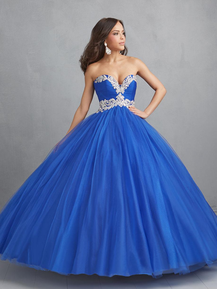 vestidos azules largos para 15 anos (2)