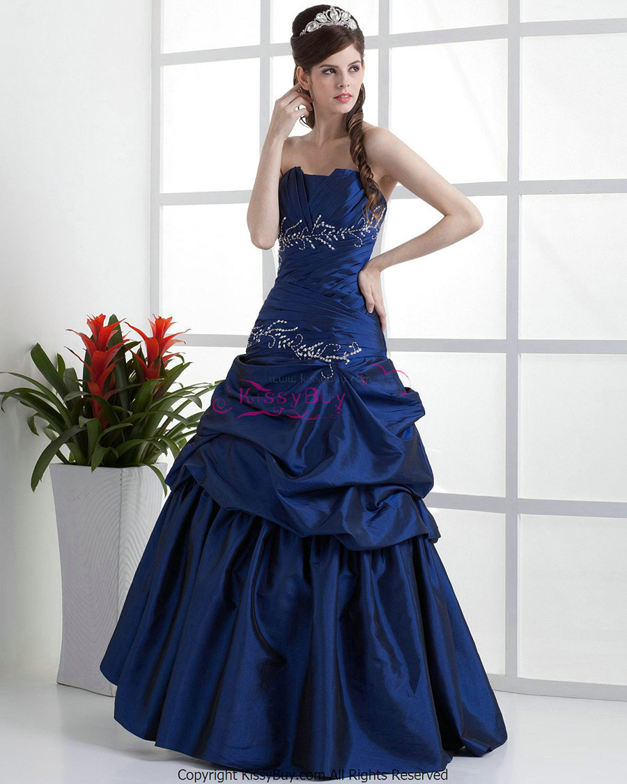 Vestidos de fiesta color azul petroleo
