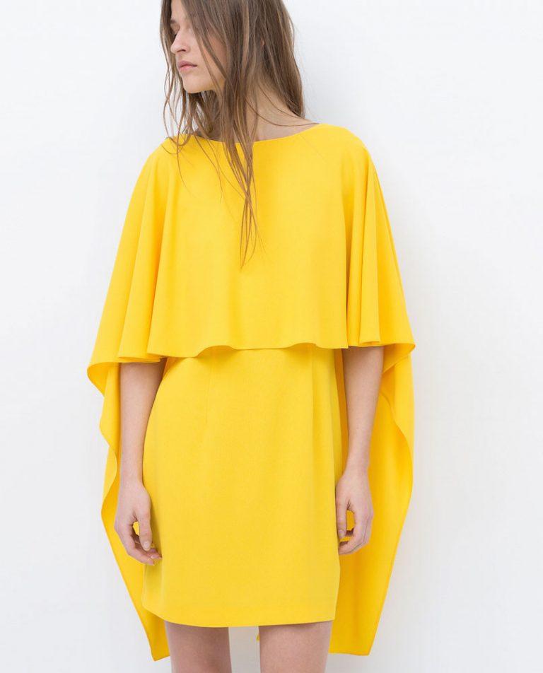 6 vestidos en tonalidades amarillo que no podrás resistir