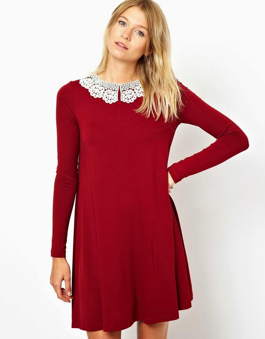 vestidos-para-usar-en-navidad-con-manga