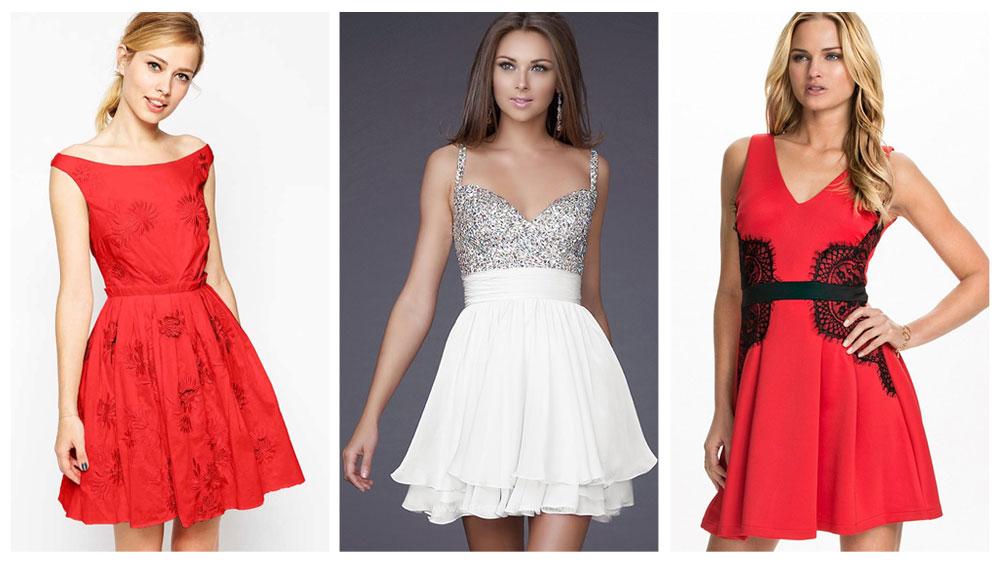 121feff0d Más de 40 vestidos simples para usar en navidad - Vestidos Glam