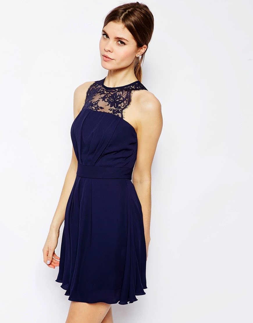 vestidos simples de navidad color azul (10)