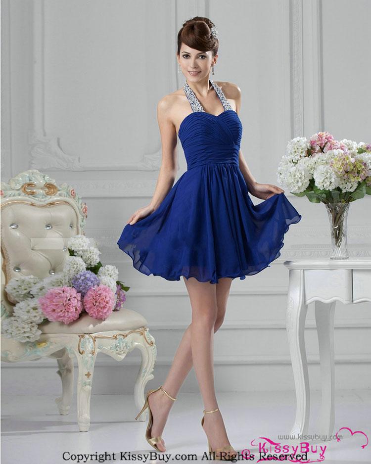 vestidos simples de navidad color azul (5)