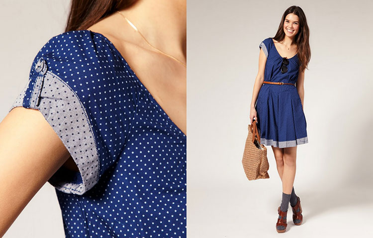 vestidos simples de navidad color azul (7)