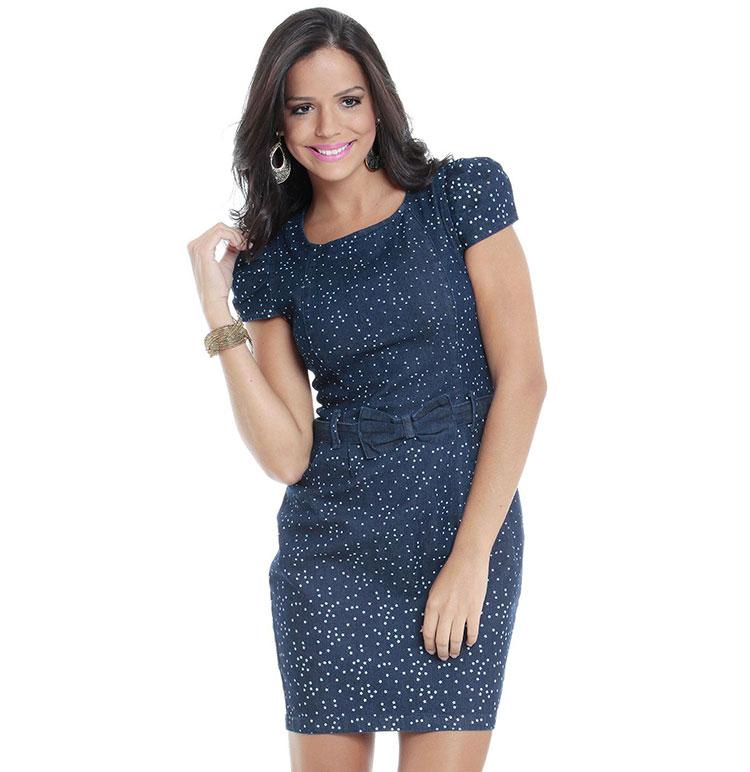 vestidos simples de navidad color azul (8)