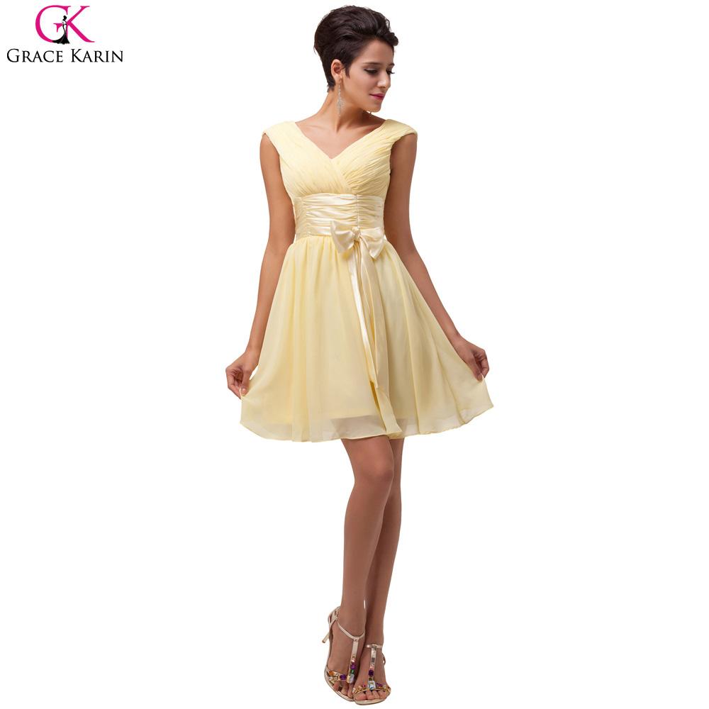 vestidos simples de navidad color dorado (2)