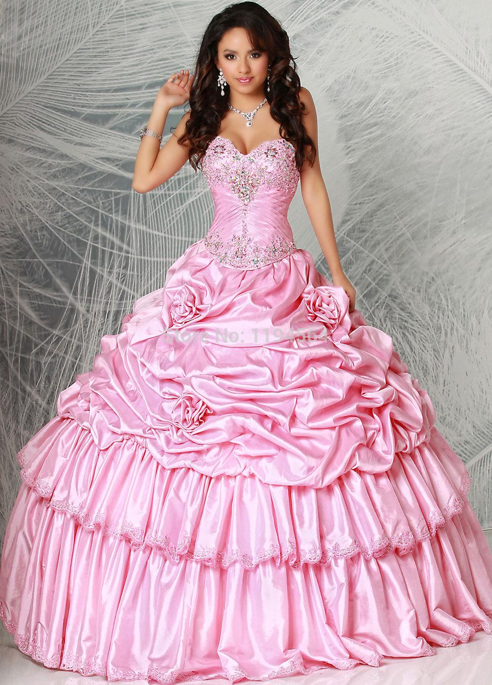 Vestidos de quinceañeras corte princesa - Vestidos Glam