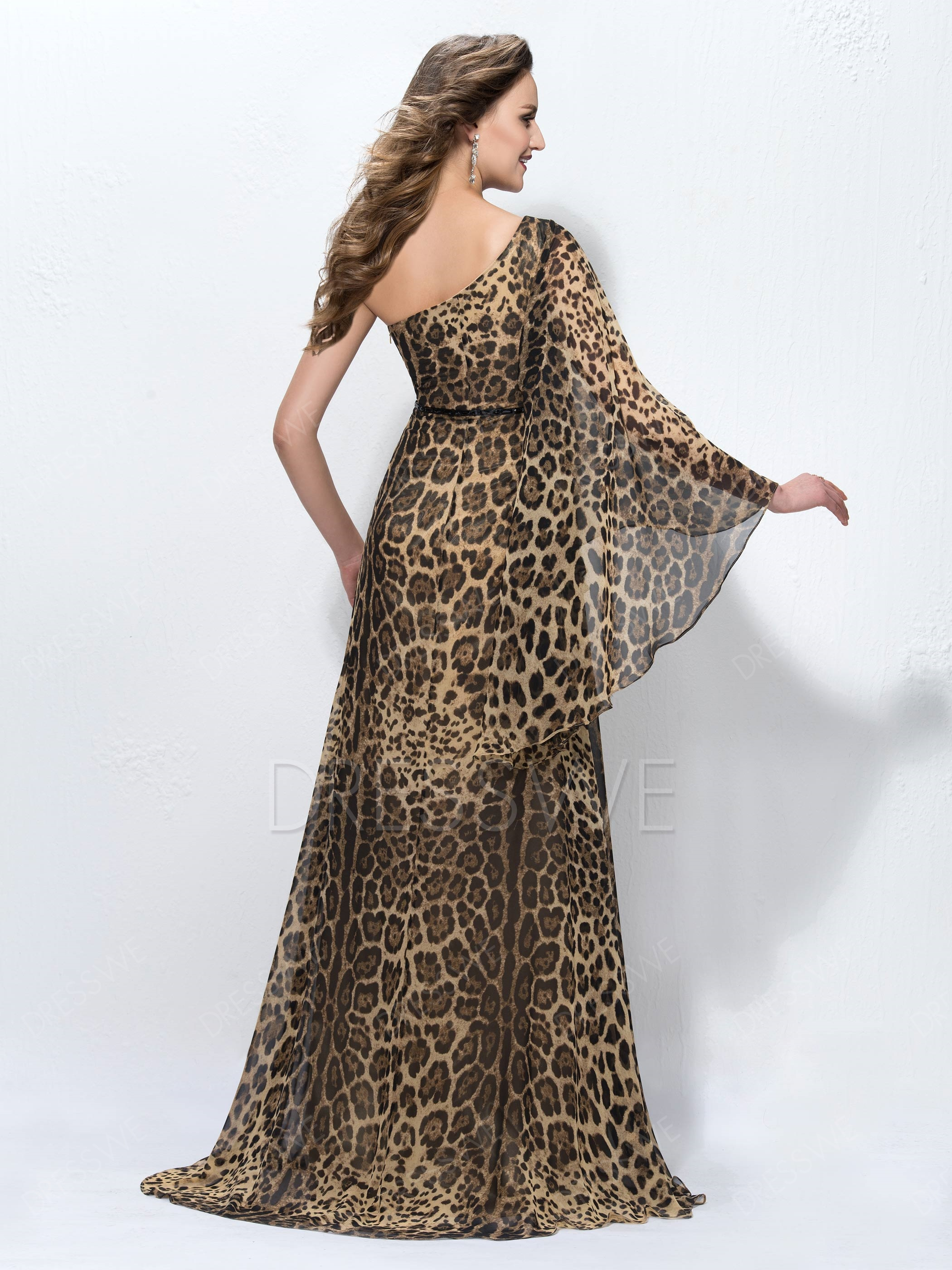 vestido de animal print 2