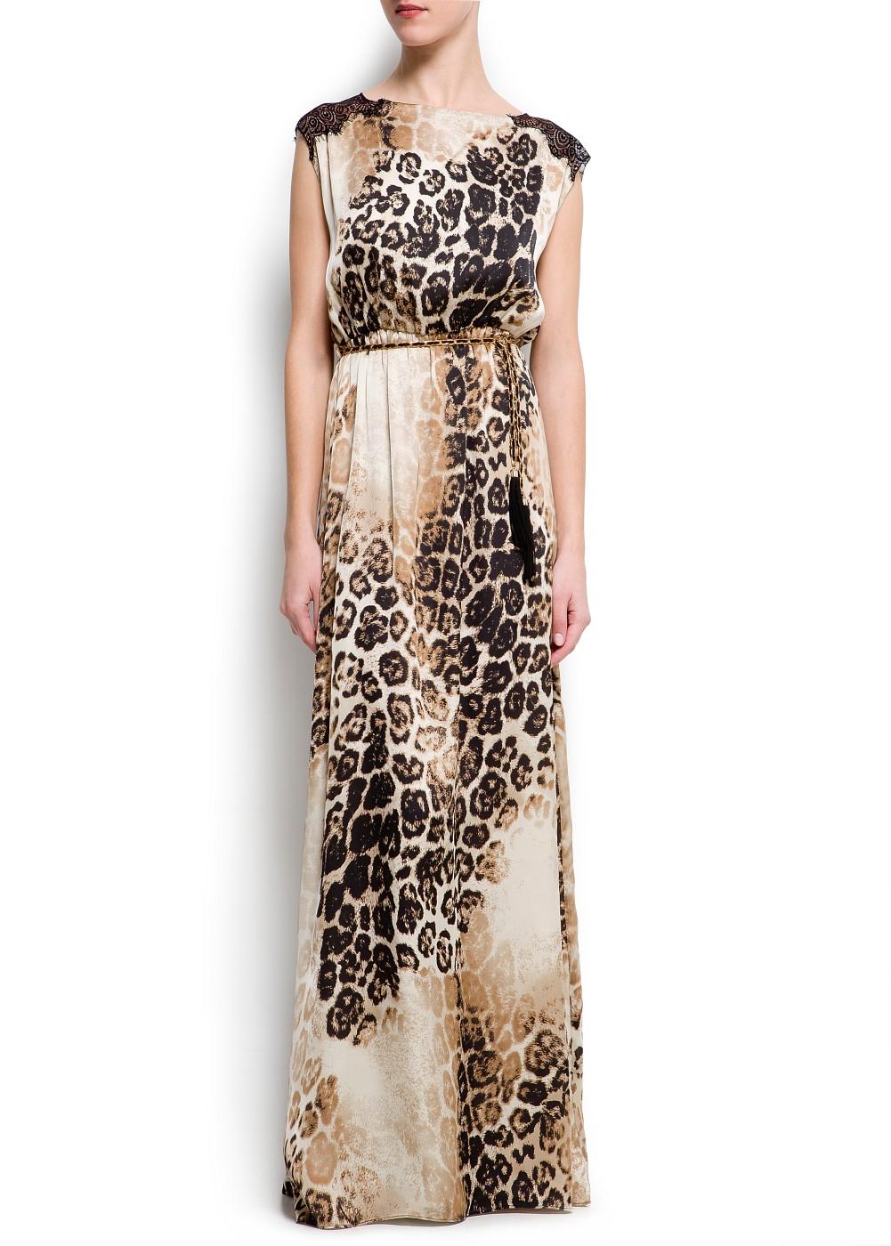 vestido de animal print 9