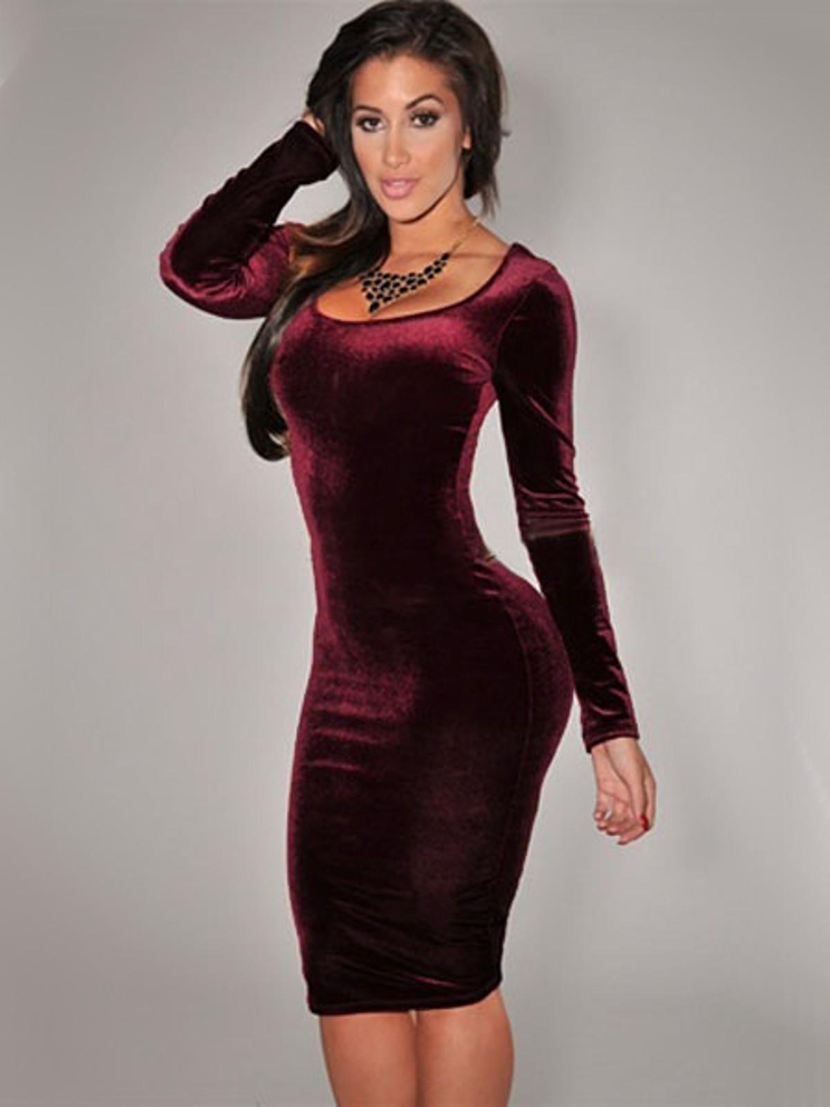 vestido de terciopelo 1