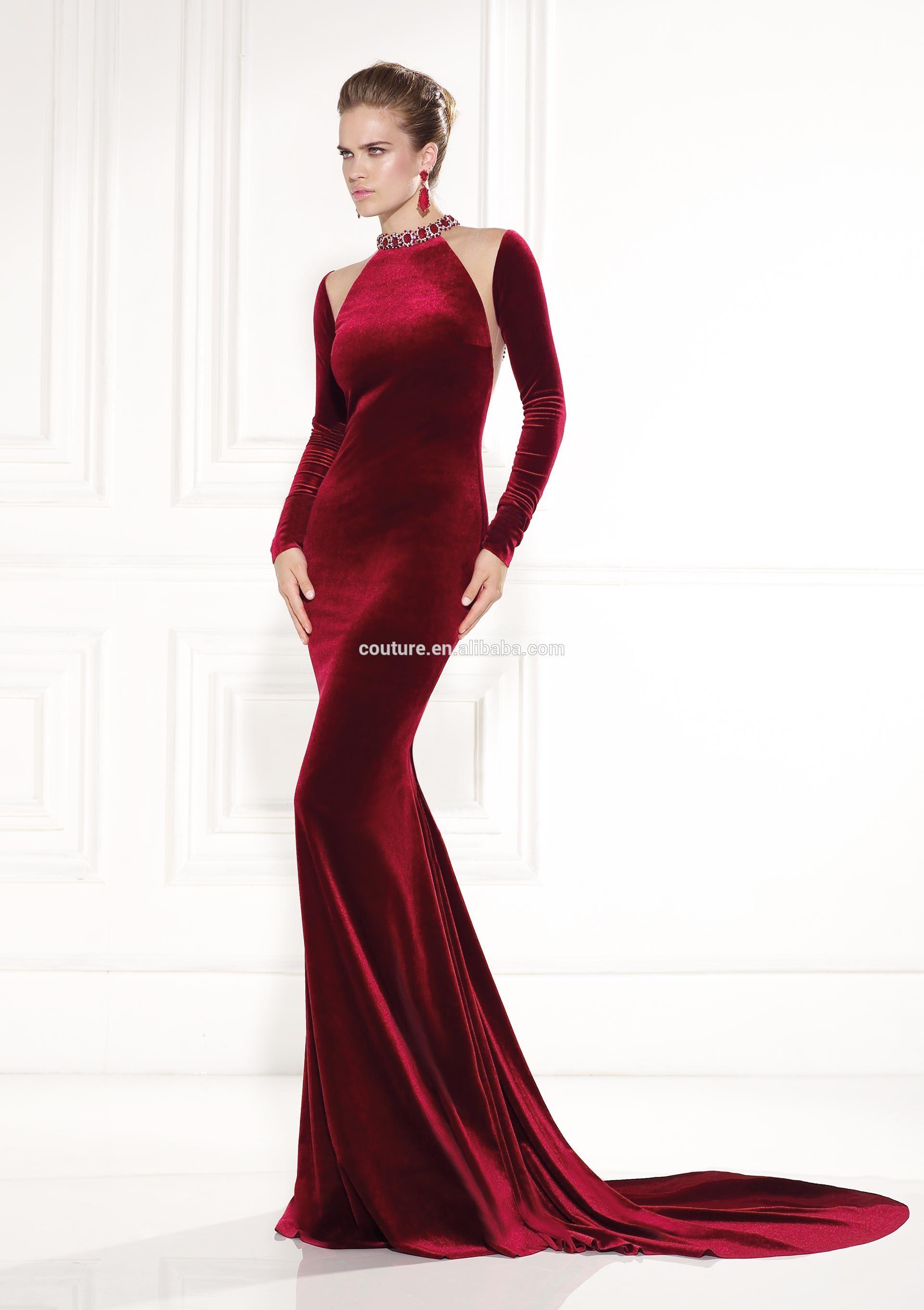 vestido de tercipelo 3