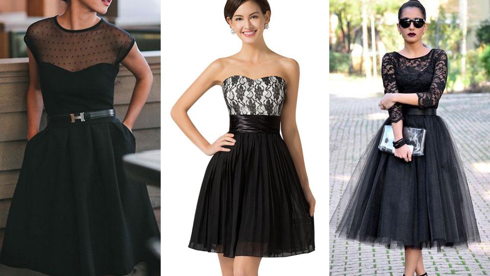 Imagenes de vestidos cortos para fiesta de noche