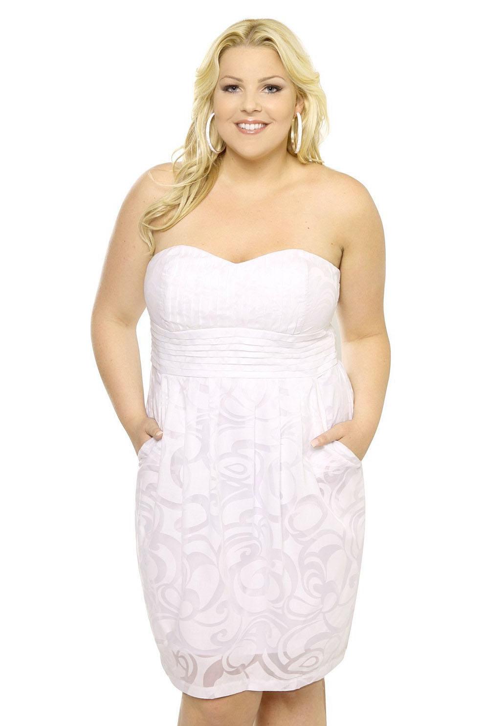 1a720f15b6 ▷ Increíble colección de Vestidos de Novia para GORDITAS!