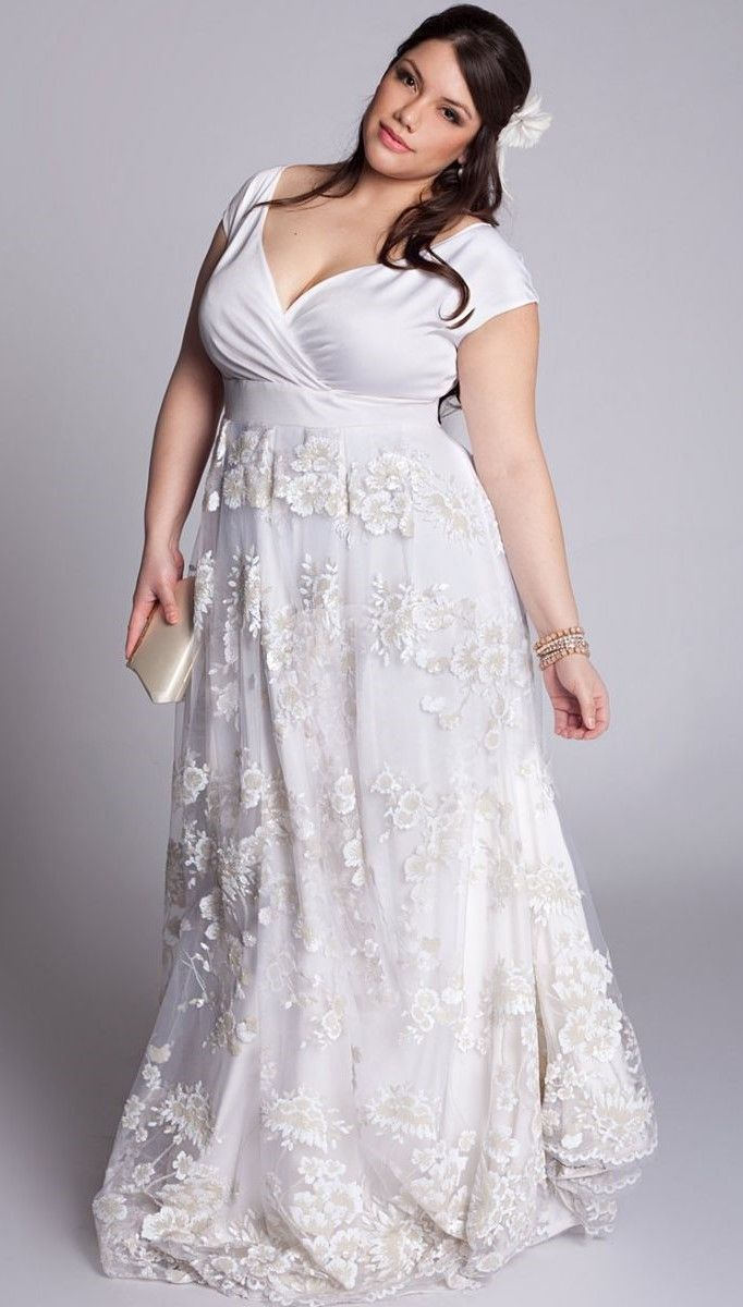 vestidos de novia para gorditas