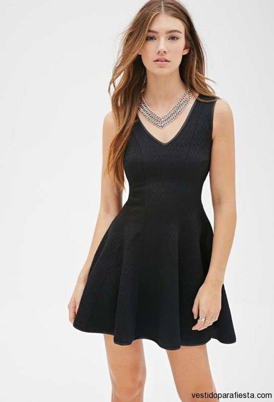 Vestidos de noche cortos y sencillos