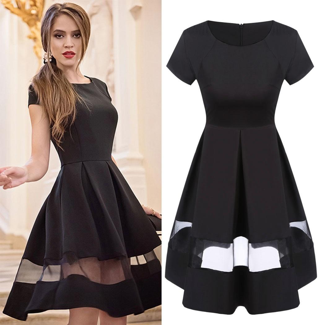0969fd0d6 Vestidos de fiesta color negro - Vestidos Glam