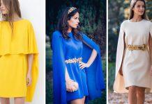 vestidos-cortos-con-capa