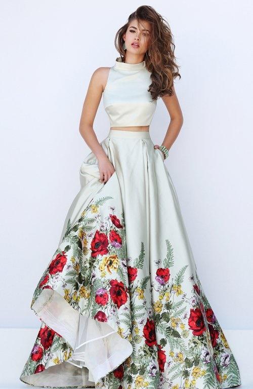 vestidos de dos piezas 1