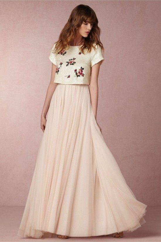vestidos de dos piezas 10
