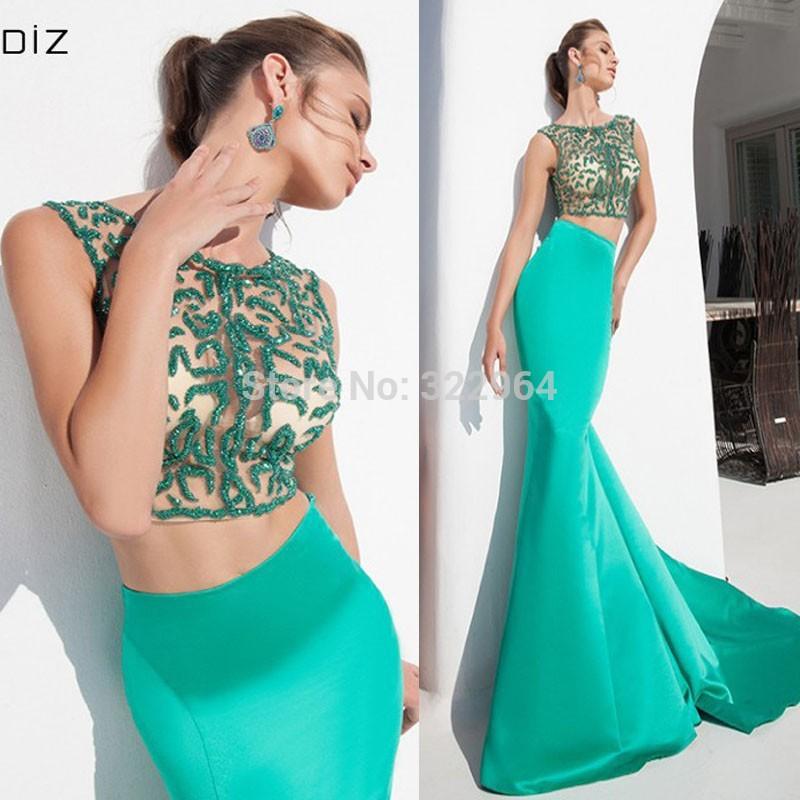 vestidos de dos piezas 11