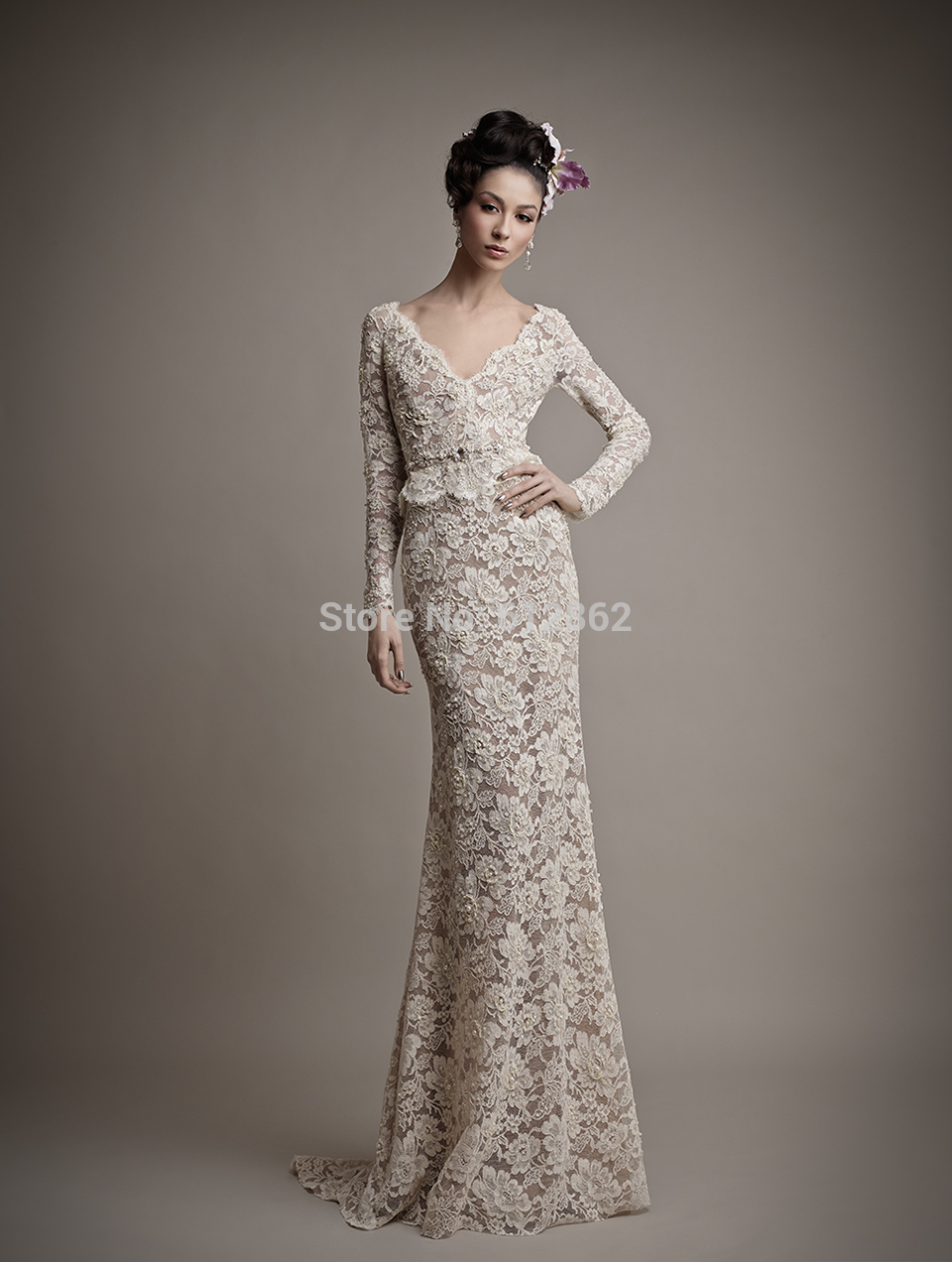 vestidos de dos piezas 13