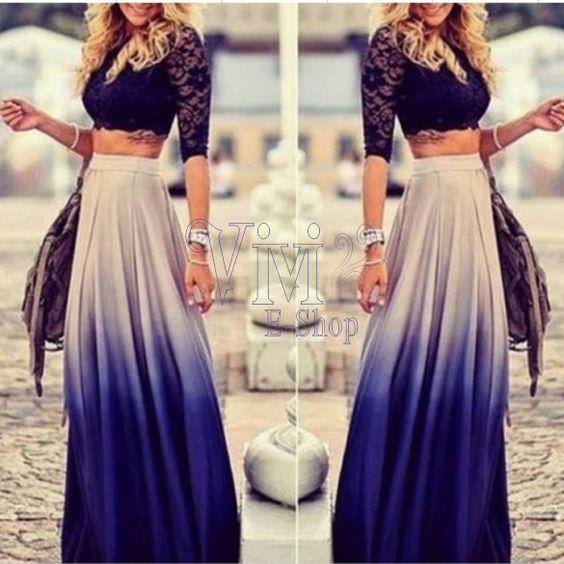 vestidos de dos piezas 15