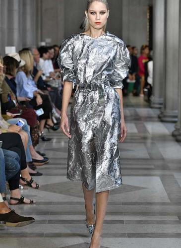 puff_sleeve_jacquard_midi_dress_in_metallic_silver-1