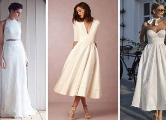 Vestidos de novia minimalistas