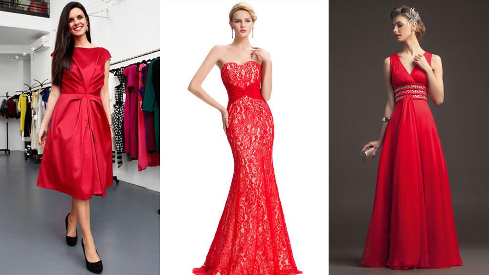 Tendencias de vestidos ¿Conoces las nuevas tendencias de vestidos? Te traemos los nuevos modelos , con diseños y estilos que marcaran la temporada, que te parece si conocemos la variedad, además si tienes una boda en la que has sido invitada, es hora de lucir un lindo vestido de color rojo.