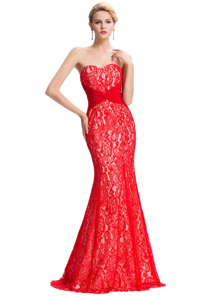 6ae437592 vestidos-de-fiesta-para-gorditas-largo-rojo-600x766