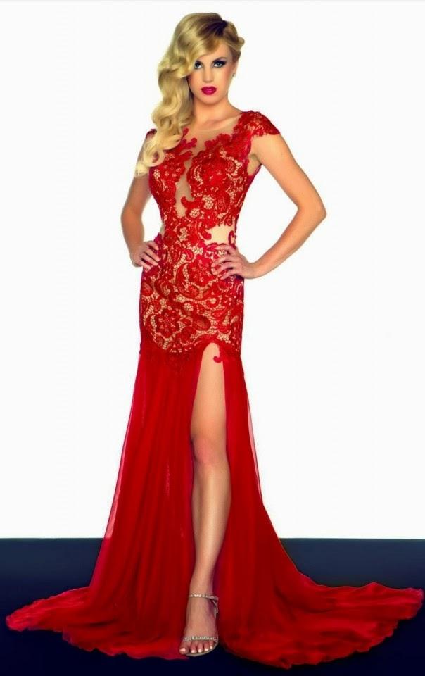 30 Vestidos de fiesta largos en color rojo - Vestidos Glam