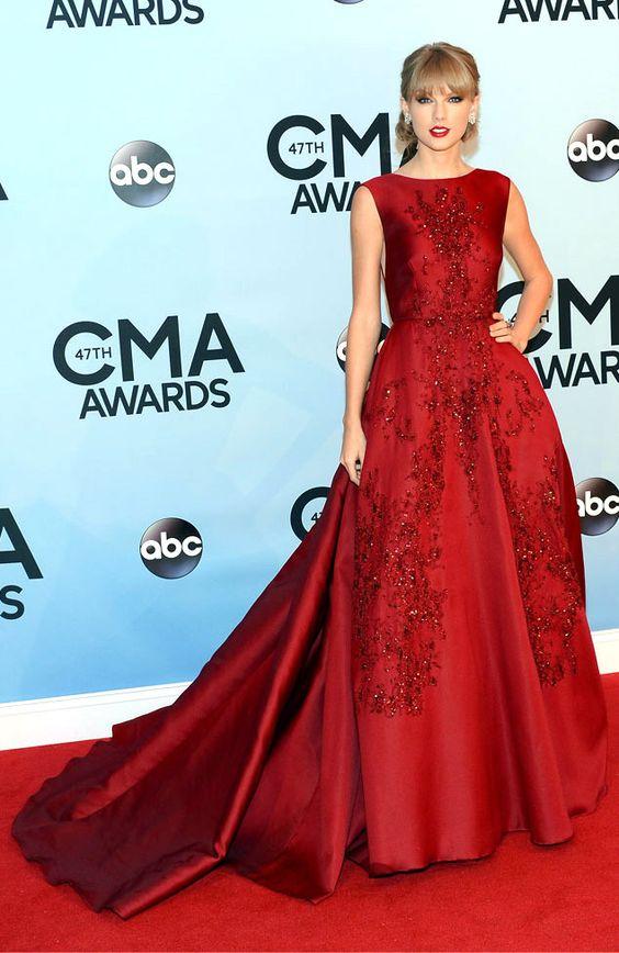 Vestidos rojos largos de noche