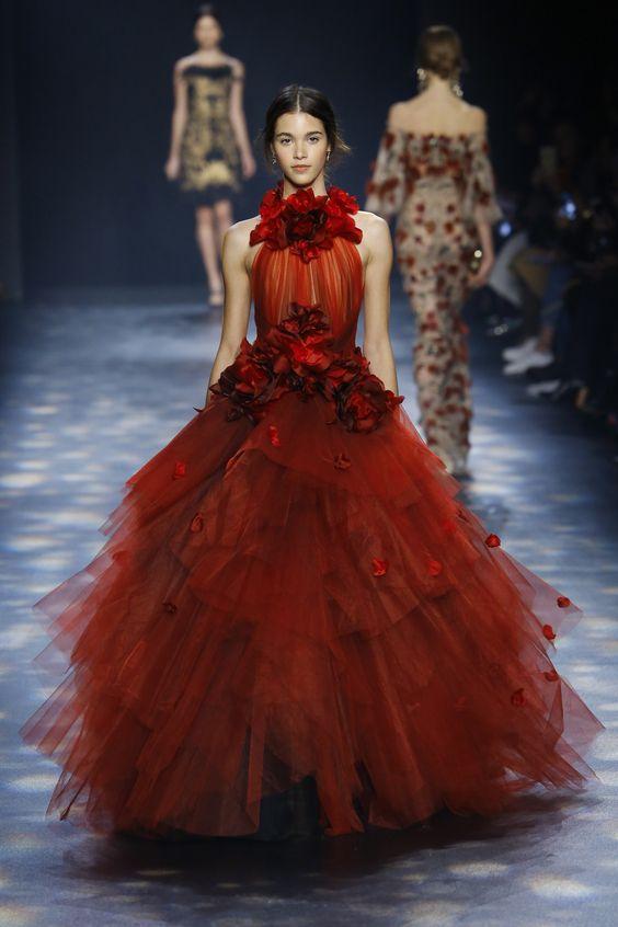 Vestidos Rojos Largos 2019 Las Fotos Y Modelos Más Lindos