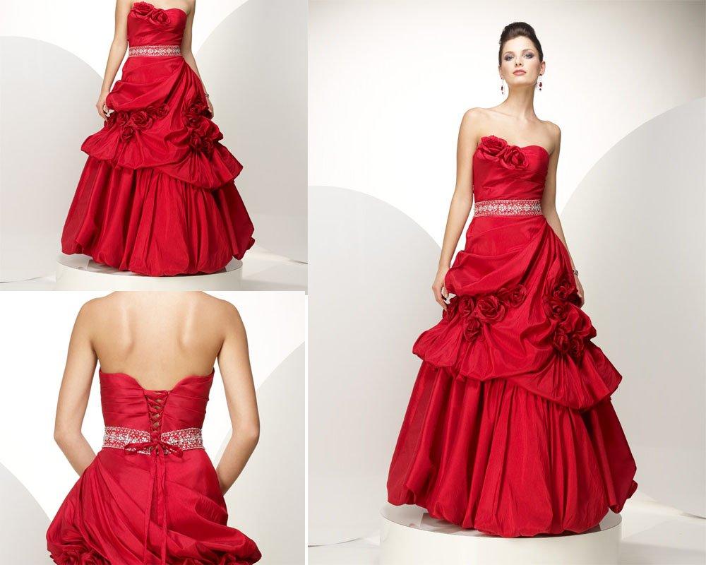 Vestidos rojos largos elegantes