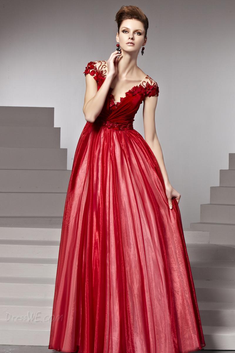 vestidos,rojos,largos,para,fiesta,7