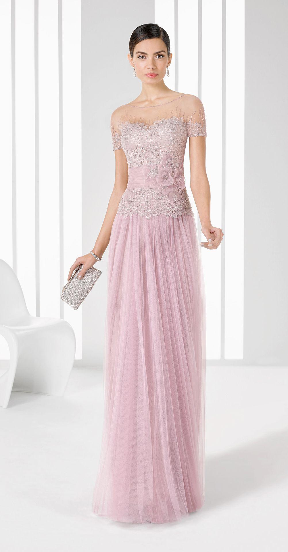 Vestidos cortos rosa
