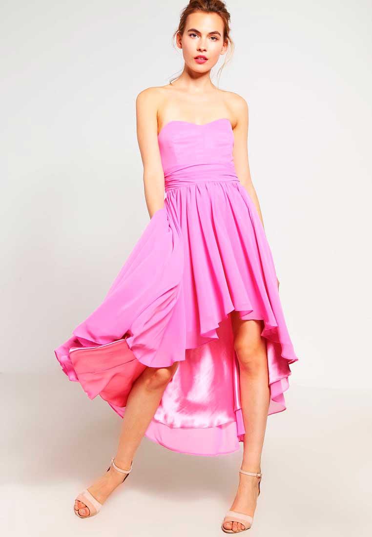 Vestidos de noche de color rosa