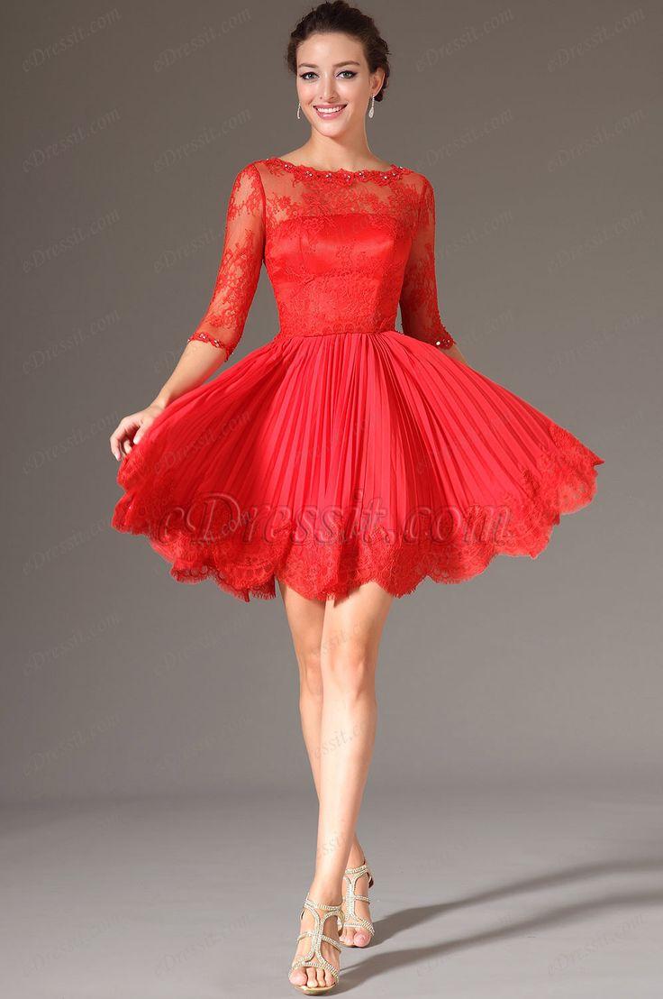 Ahora las mujeres nos inclinamos hacia los vestidos cortos, una opción mucho más juvenil y sexy, pero que conserva la elegancia de los vestidos de fiesta largos. Utilizar un vestido corto no es sinónimo de utilizar algo simple, eligiendo la tela, el diseño y los detalles del vestido.