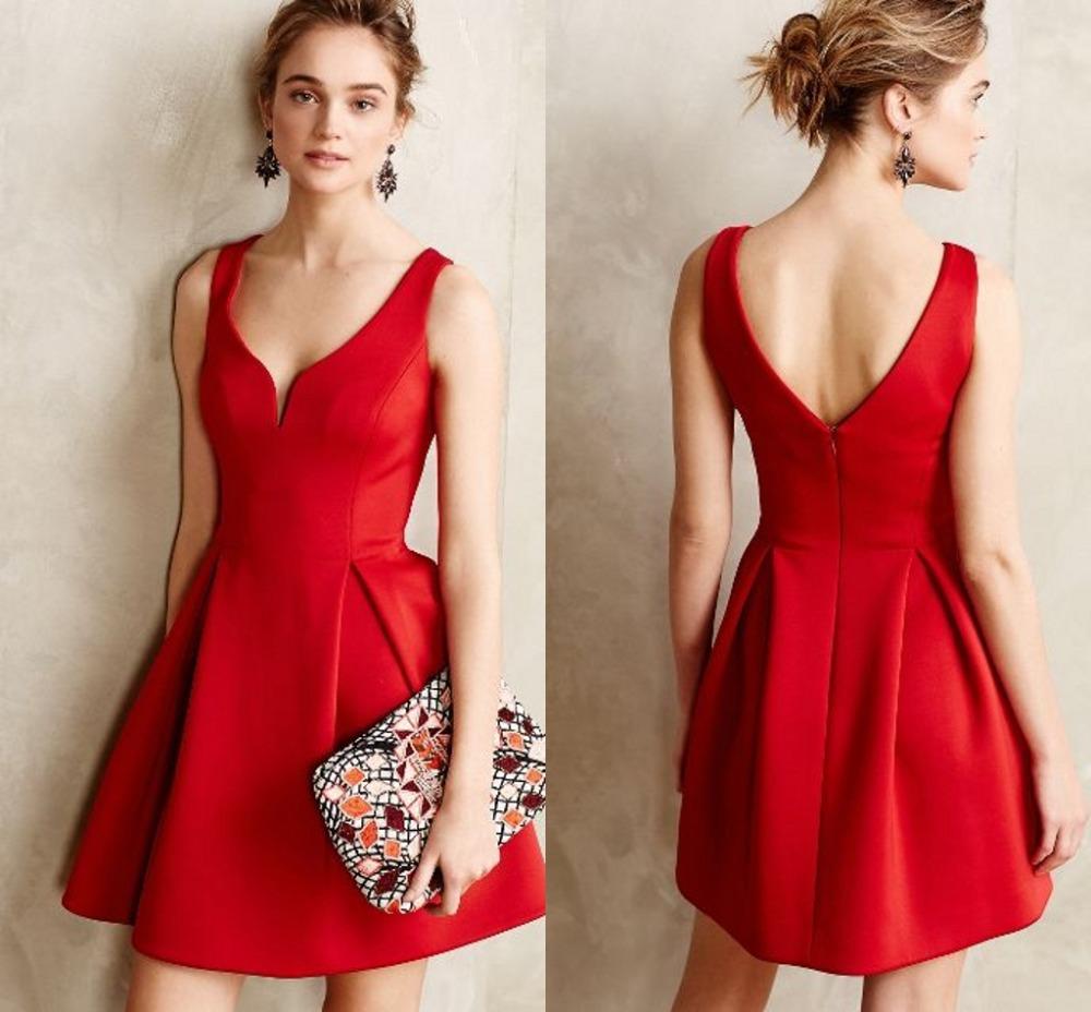 Resultado de imagen para Vestidos rojo